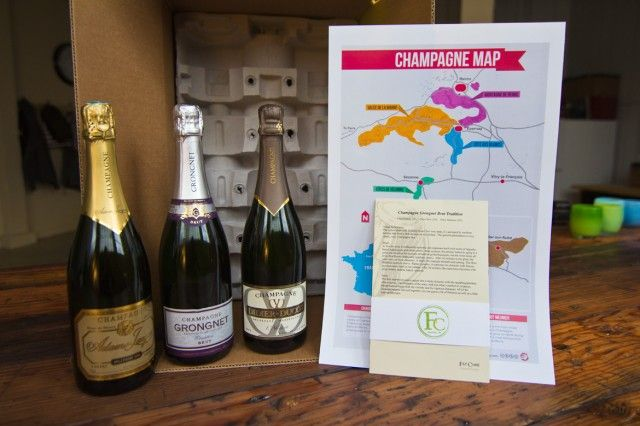 Fat Cork's FC Club: Grower Champagne delivered straight to your door every other month! #seattlechampagne