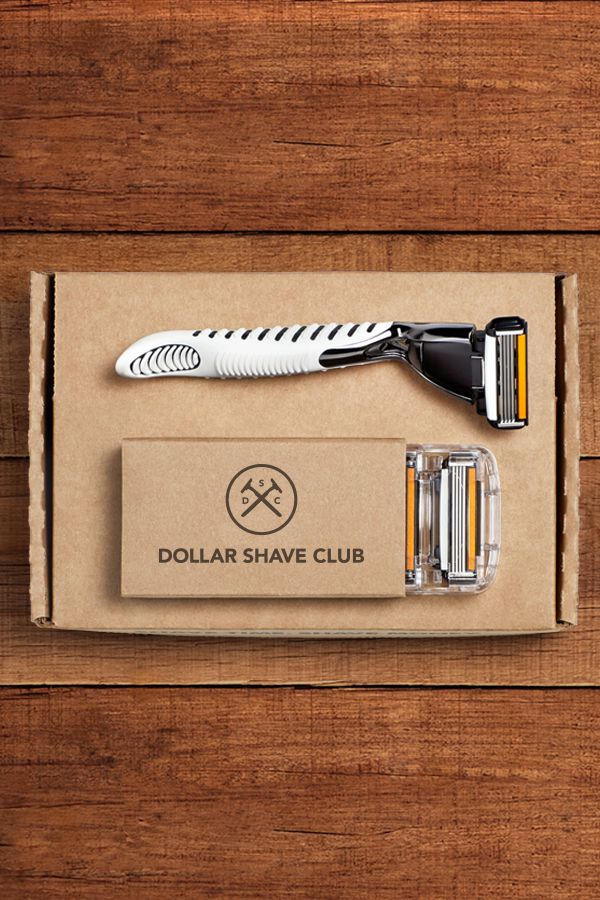 Don't pay $20 for a pack of razors. Dollar Shave Club delivers amazing razors for a few bucks. Try the Club.