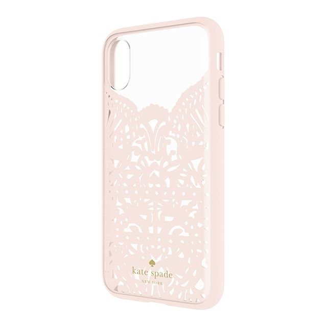 best service 36855 11f40 Apple iPhone X Incipio Kate Spade New York Lace Cage Case - Lace ...