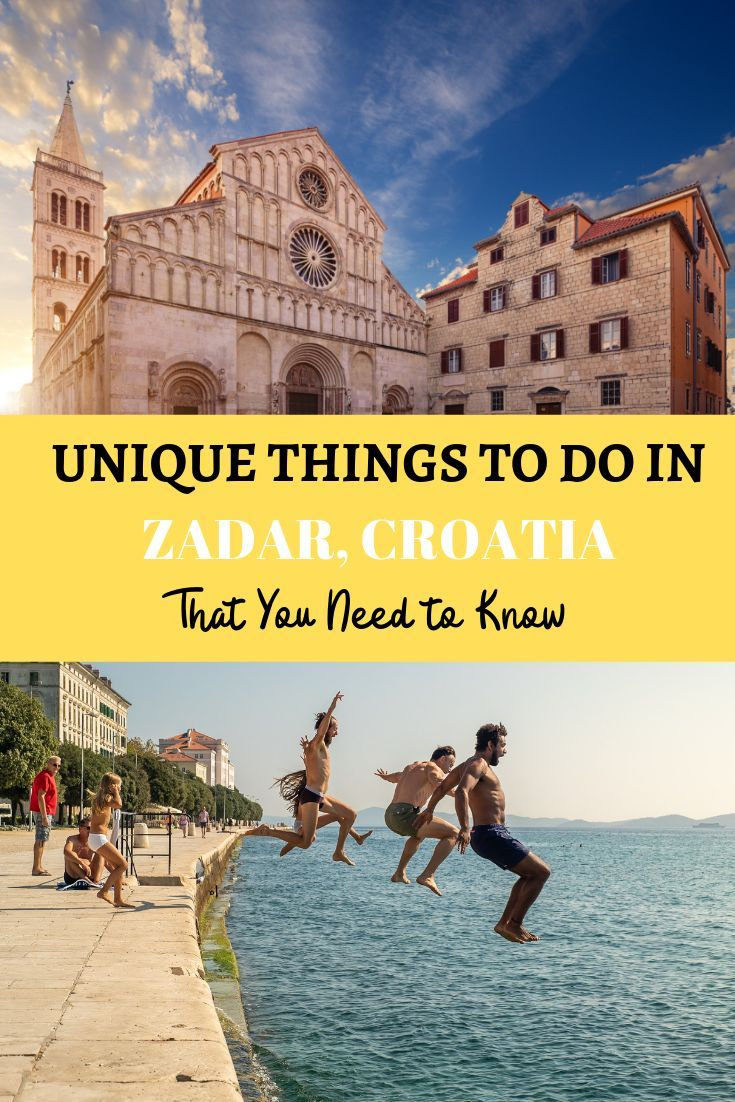 Heading To Zadar Croatia This Post Has Everything You Need To Know About The Historic And Beautiful Town Of Zadar Find O Travel Europe Travel Croatia Travel