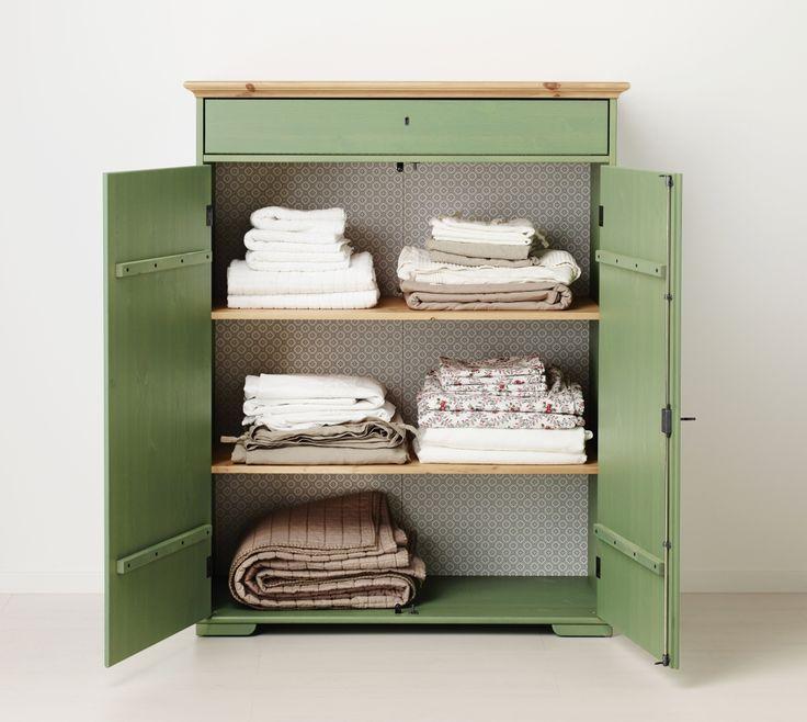 HURDAL linnenkast   WIN! Stel jouw favoriete slaap- en badkamer samen. Het mooiste bord laten we tot leven komen in IKEA Amsterdam. De winnaar wint ook een IKEA cadeaupas t.w.v. 2.500.-! #IKEAcatalogus