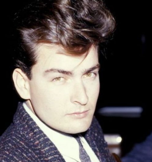 The 80's dreamy Charlie Sheen