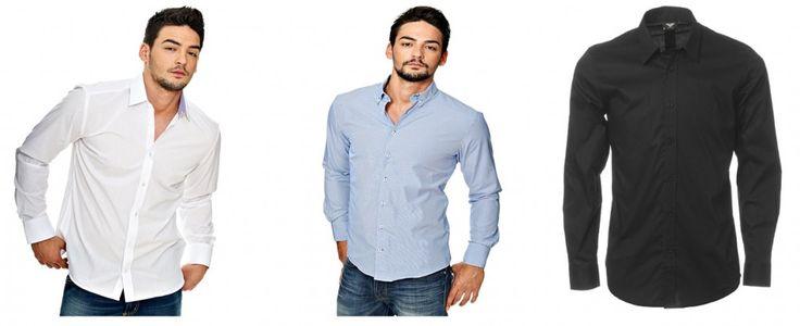 Her er nogle klassiske skjorter. Også fra Nelly.com.