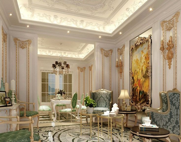 Interior French House Design Ideas For Classy And Priceless Look Pretty Living Room