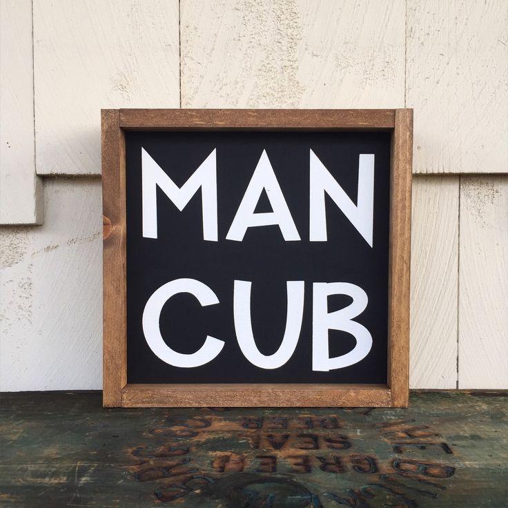 Man Cub Framed Wood Sign, Custom Boys Room Decor, Nursery Gallery Wall Hanging, Jungle Book Wall Art, Rustic Disney Home Decor by 4Lovecustomgifts on Etsy https://www.etsy.com/listing/269469480/man-cub-framed-wood-sign-custom-boys