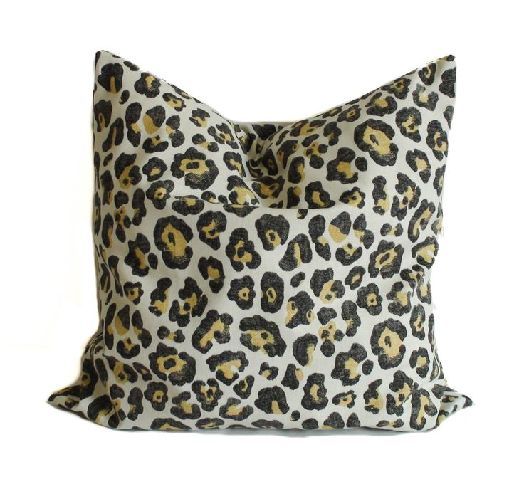 22x22 Throw Pillow Covers : Throw pillow covers, 18x18, 20x20, 22x22, Pillow cover, Cheetah pillow, Animal print pillow ...