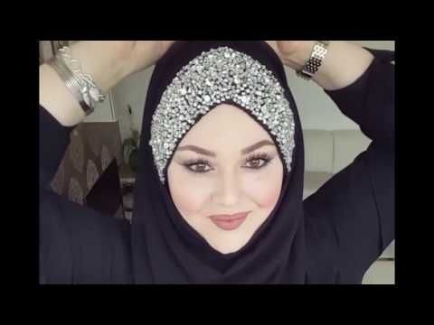 Requested Hijab Style - Using  Square Scarf with Full Coverage - YouTube