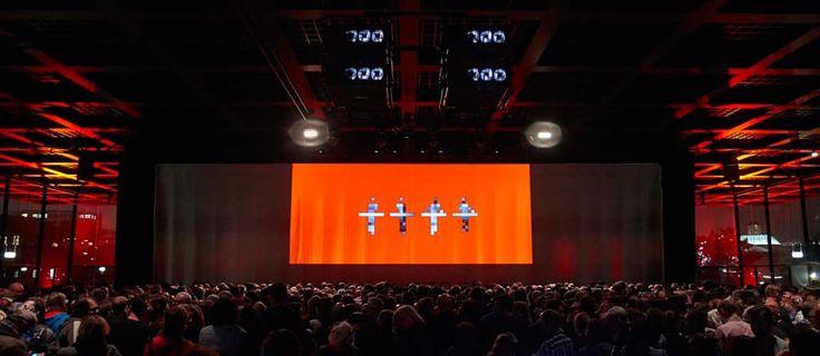 Kraftwerk-band stage design