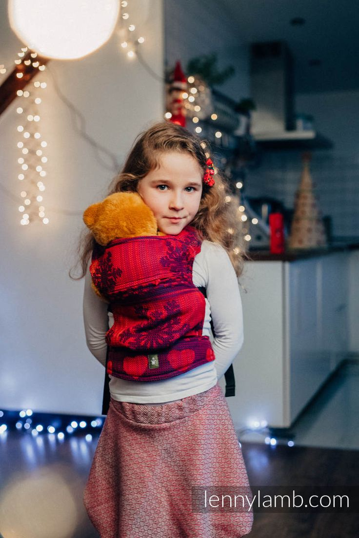 LennyLamb Doll Carriers are made of exactly the same fabrics and buckles our carriers are produced. They are safe for children, super soft and available in numerous beautiful designs and colors !