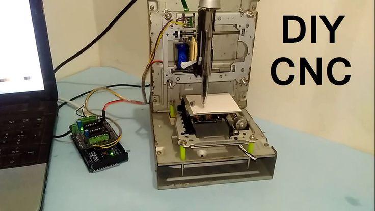 Build your own mini CNC machine.