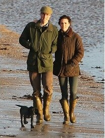 The Duke and Duchess of Cambridge in 2012 in Anglesey. This image was taken from the Facebook page Catherine, Duchess of Cambridge, Style Files #Bestinthecountry