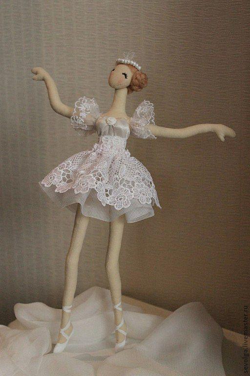 Купить Куколка балерина (тряпиенс) - куклы и игрушки, кукла в подарок, кукла ручной работы