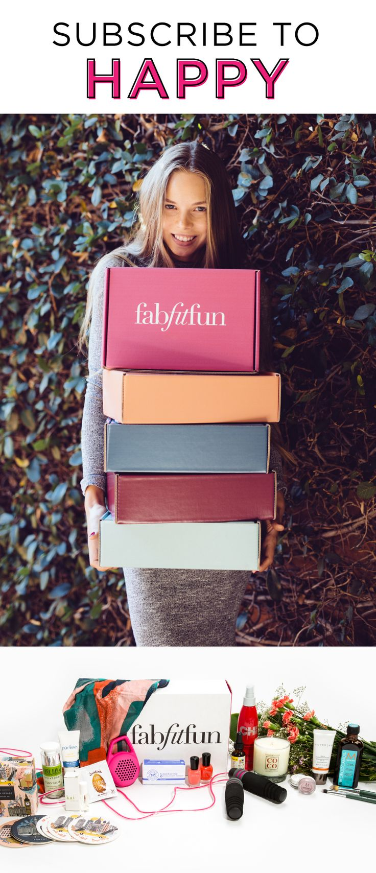 Try out FabFitFun today and see why we're the #1 full-size box. Each box includes the best full-size, premium beauty, fashion, and fitness products curated for each season.
