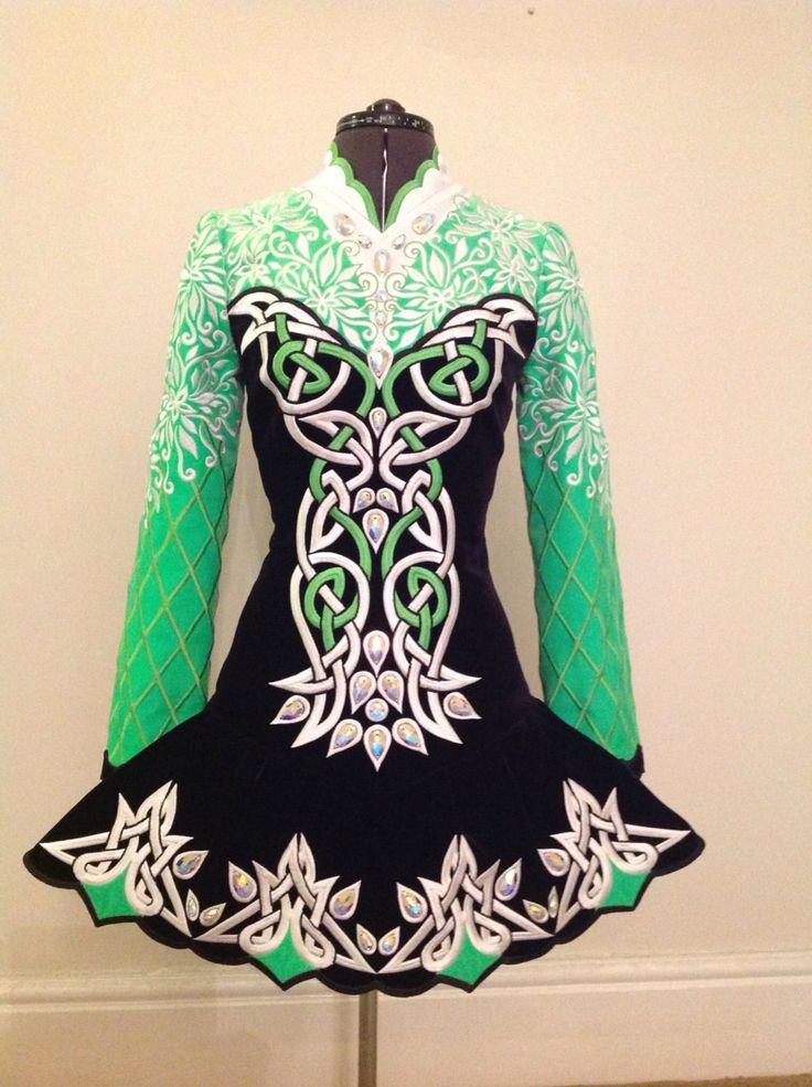 Feis Frocks Irish Dance Solo Dress Costume love this shade of green