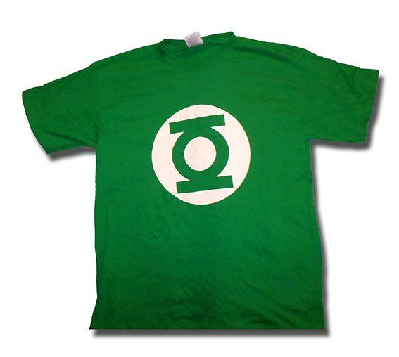 Logotipo de linterna verde en vinil