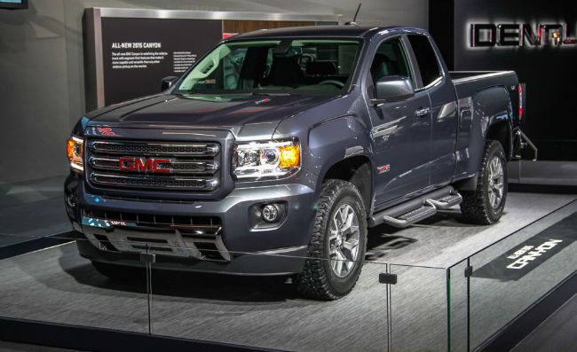 2016 GMC Canyon Diesel Redesign