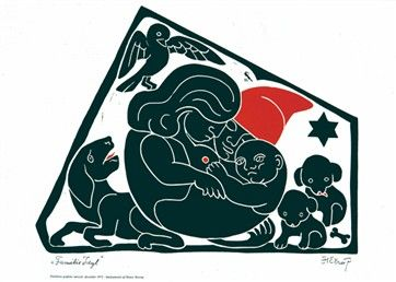 Grafisk særtryk: Henry Heerup (Familie Idyl). Pris: 165 kr.