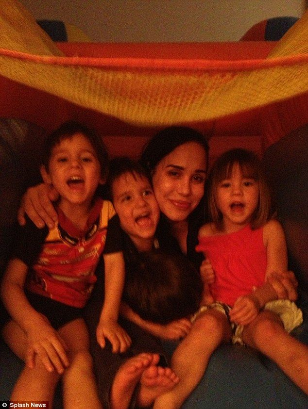 octomom kids 2014   Eight times the fun: Octomum Nadya Suleman's octuplets celebrated ...