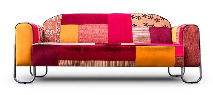 les 25 meilleures id es de la cat gorie sofa en patchwork sur pinterest canap en denim zone. Black Bedroom Furniture Sets. Home Design Ideas
