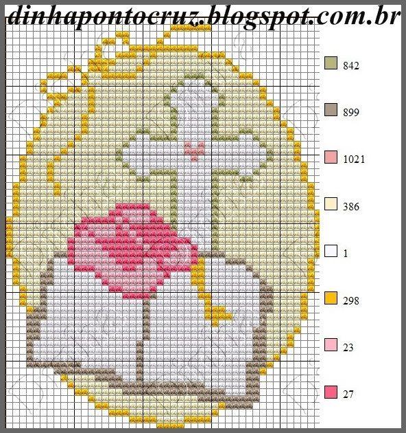Bom dia a todos!  Hoje trouxe alguns gráficos religiosos, espero que gostem: