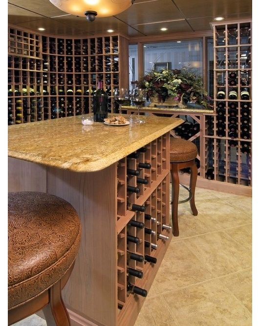 Over 100 Man Cave/Wine Cellar Design Ideas Http://www.pinterest