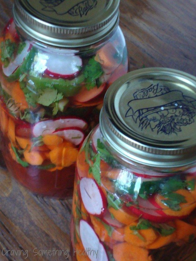 10. Pickled Vegetables Mexican Style | 20 Cinco De Mayo Recipes For Vegans That The Whole Family Will Love