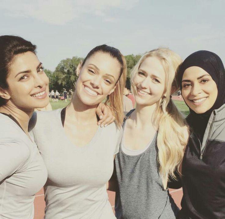Priyanka Chopra, Anabelle Acosta, Johanna Braddy, and Yasmine Al Masri