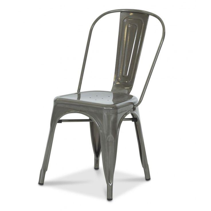 Köp - 649kr! Stol Industry - Borstad stål. Industry är en populär serie hos oss med möbler i