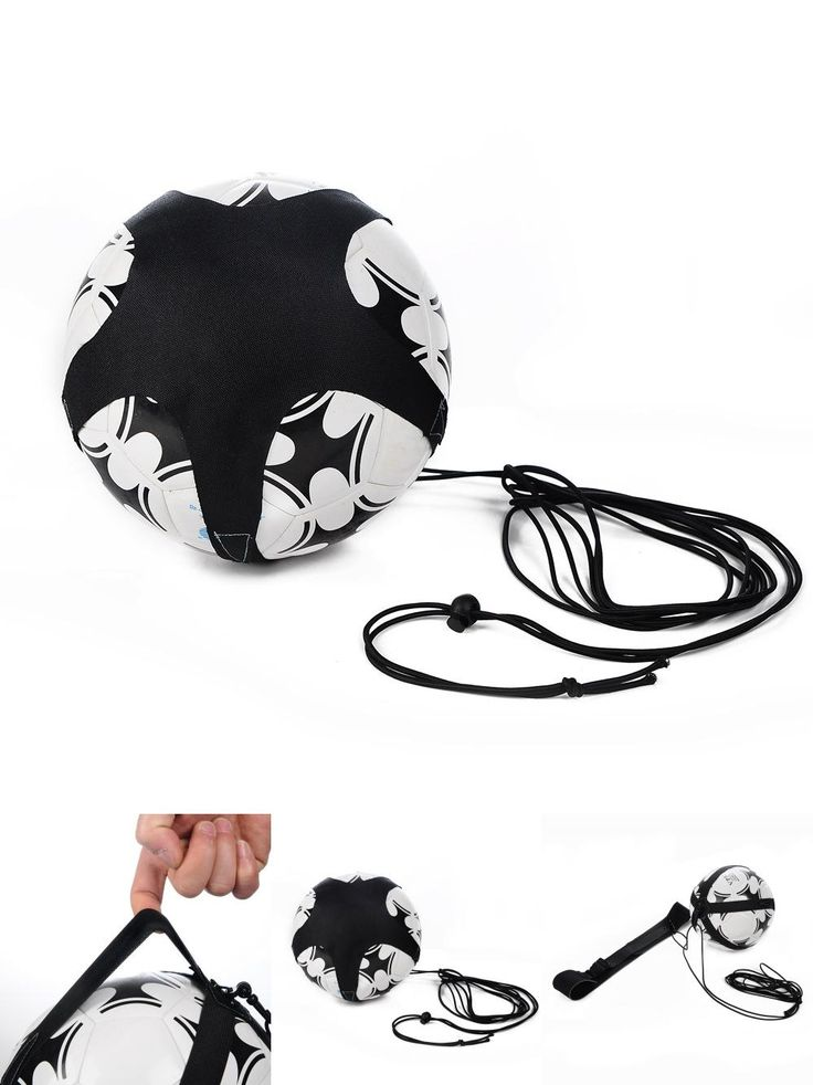 [Visit to Buy] Soccer Ball Juggle Bags  Children Auxiliary Circling Belt Kids Football Training Equipment Kick Solo Soccer Trainer #Advertisement