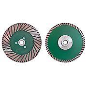 Алмазные диски с фланцем Duplex
