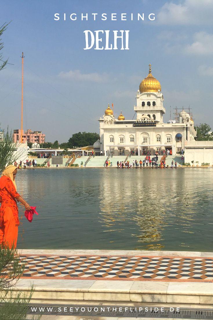 Bei unserem Sightseeing Programm in Delhi haben wir den Lotustempel, das Denkmal Gandhis, eine Moschee, ein Sieges- und Wachturm, ein Sikh Tempel, Old Delhi und ein Mausoleum besucht