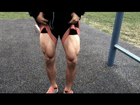 The First Real Calisthenic Leg Workout (Street Workout Style) - YouTube