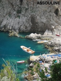 Capri, Italy,taking  a boat like this to the Blue Ghrotto .......ABSOLUTY and truly a wonder