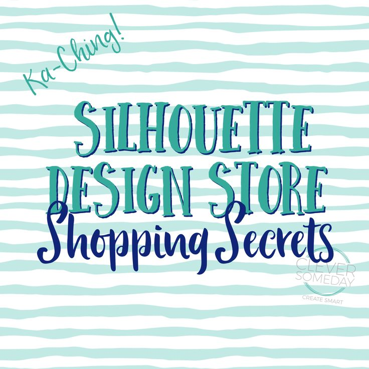 How to choose Silhouette Design Store files wisely and get them for the lowest price.
