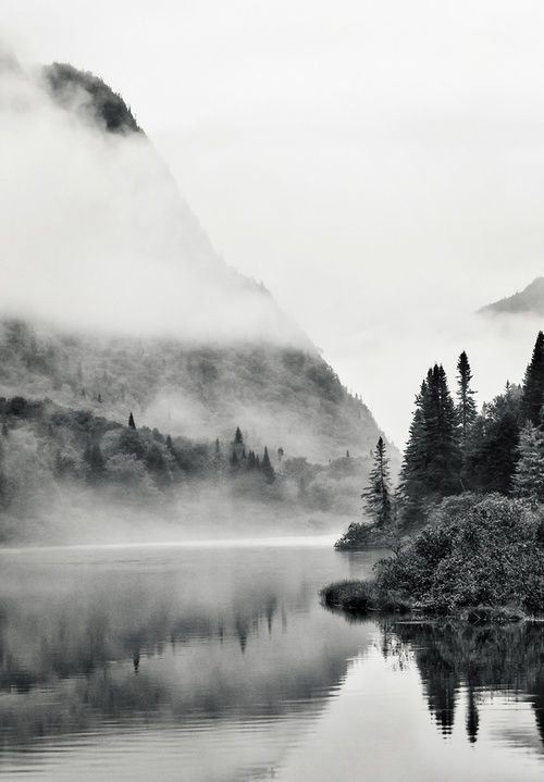cloudy black and white · Nature + Landscape Photography Inspiration · Beautiful Moody Outdoors