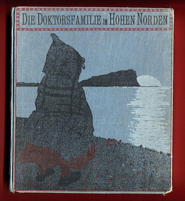 Die Doktorsfamilie im hohen Norden von Ågot Gjems Selmer, 1925.