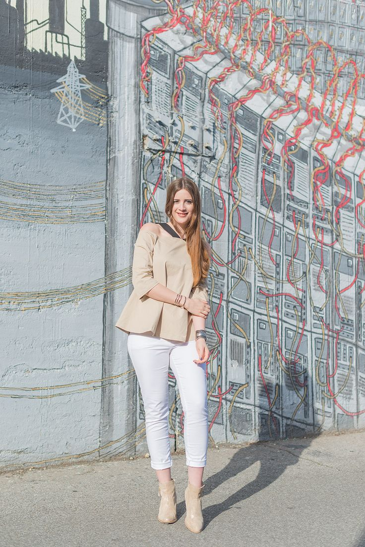 OUTFIT: STYLING-TIPPS FÜR WEISSE JEANS IM SOMMER!