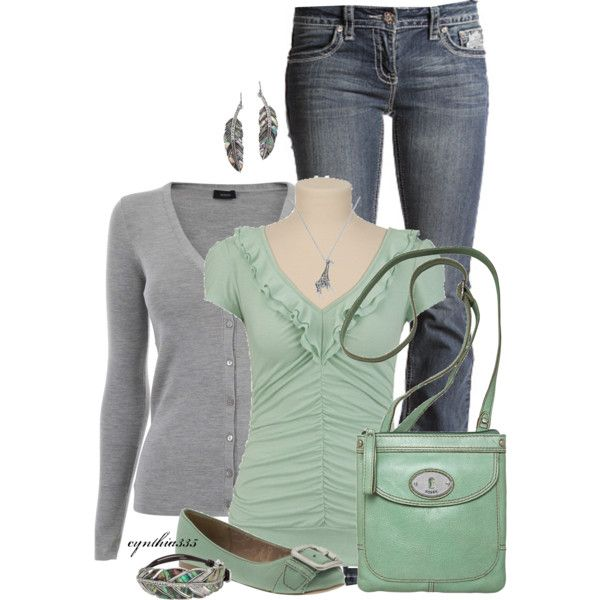 A fashion look from March 2012 featuring Joseph cardigans, FOSSIL flats and FOSSIL shoulder bags. Browse and shop related looks.