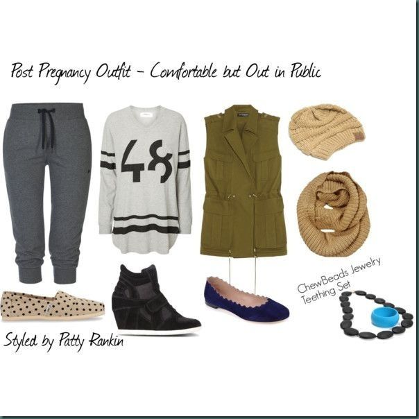 3 Post Pregnancy Styling Tips - Great outfits for post baby or pre - weightloss!