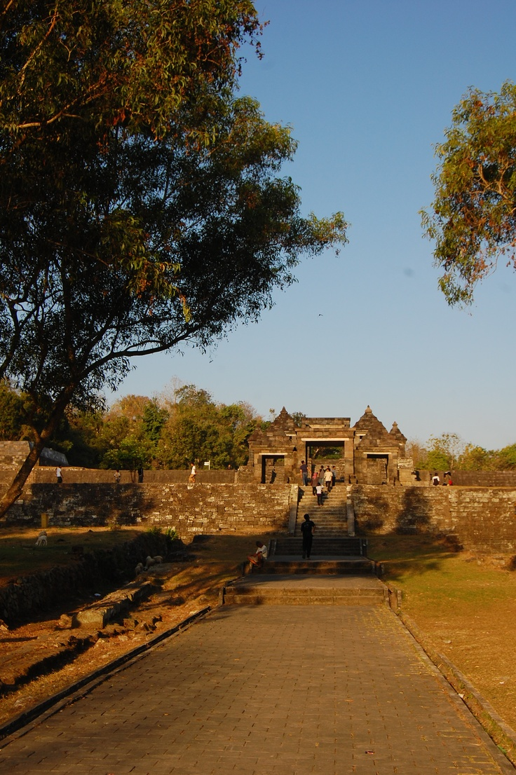 Candi Ratu Boko, Jogyakarta, Indonesia