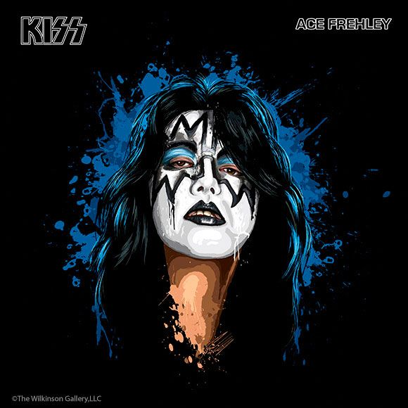 Ace Frehley is a former guitarist for the band Kiss from 1974 - 1982, then 1996 - 2002. Real name: Paul Daniel Frehley. Born in The Bronx, New York on April 27th, 1951.