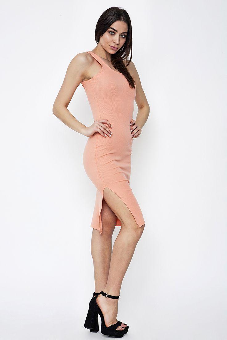 Midi Ribbed Φόρεμα - ΡΟΥΧΑ -> Φορέματα & Φόρμες   Made of Grace