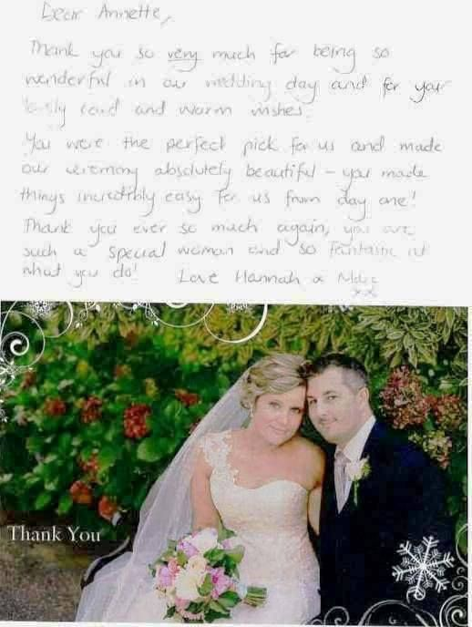 Thank you for my 'Thank You'! Mr & Mrs Marc & Hannah Hryciuk married March 2014. What a delightful couple in a gorgeous garden setting. They have been my cover picture ever since then. Congratulations! — at Wairoa House Aldgate South Australia.