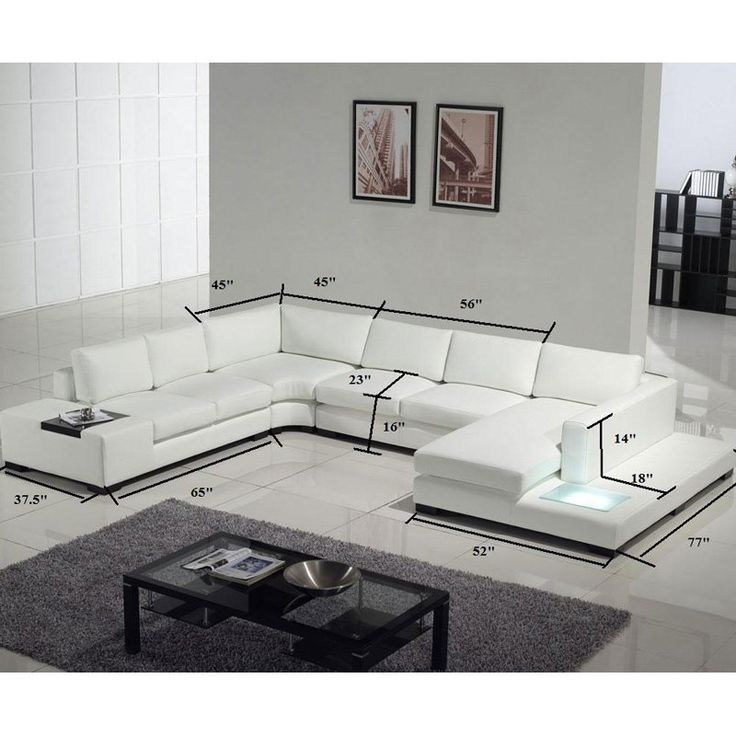 Sectional - modern - sectional sofas - los angeles - by Vons Furniture  sc 1 st  Pinterest : sectional couches los angeles - Sectionals, Sofas & Couches