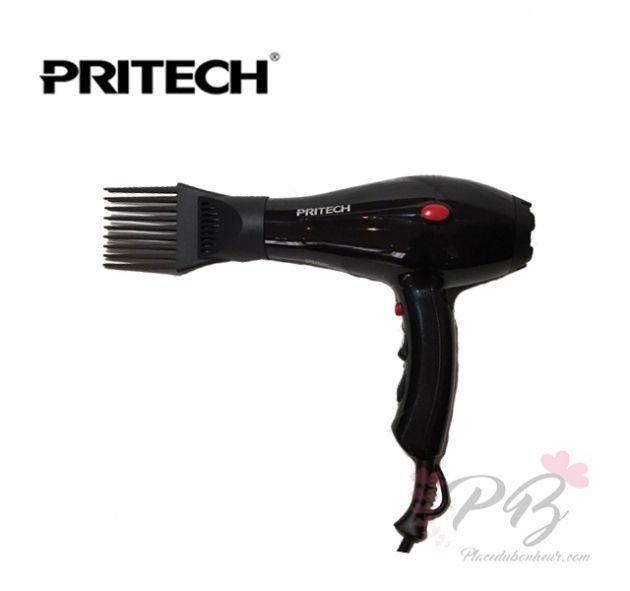 Sèche-cheveux professionnel avec peigne spécial AFRO