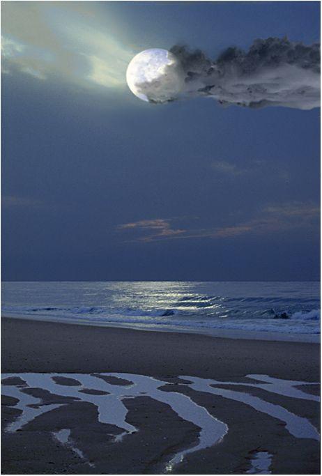 Glorious moon.