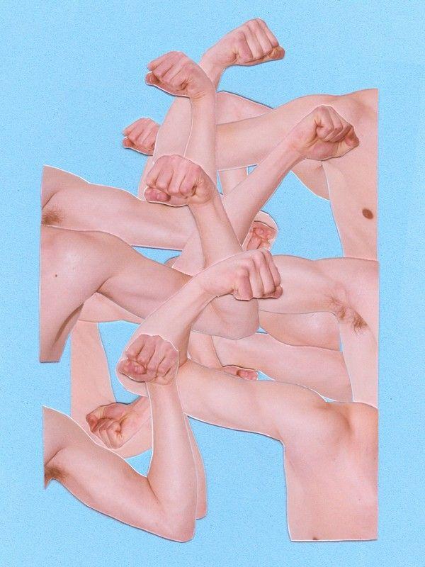 Artist Colby Jones breaks down gender stereotypes with sequinned collages: http://www.dazeddigital.com/artsandculture/article/24529/1/colby-jones-gender