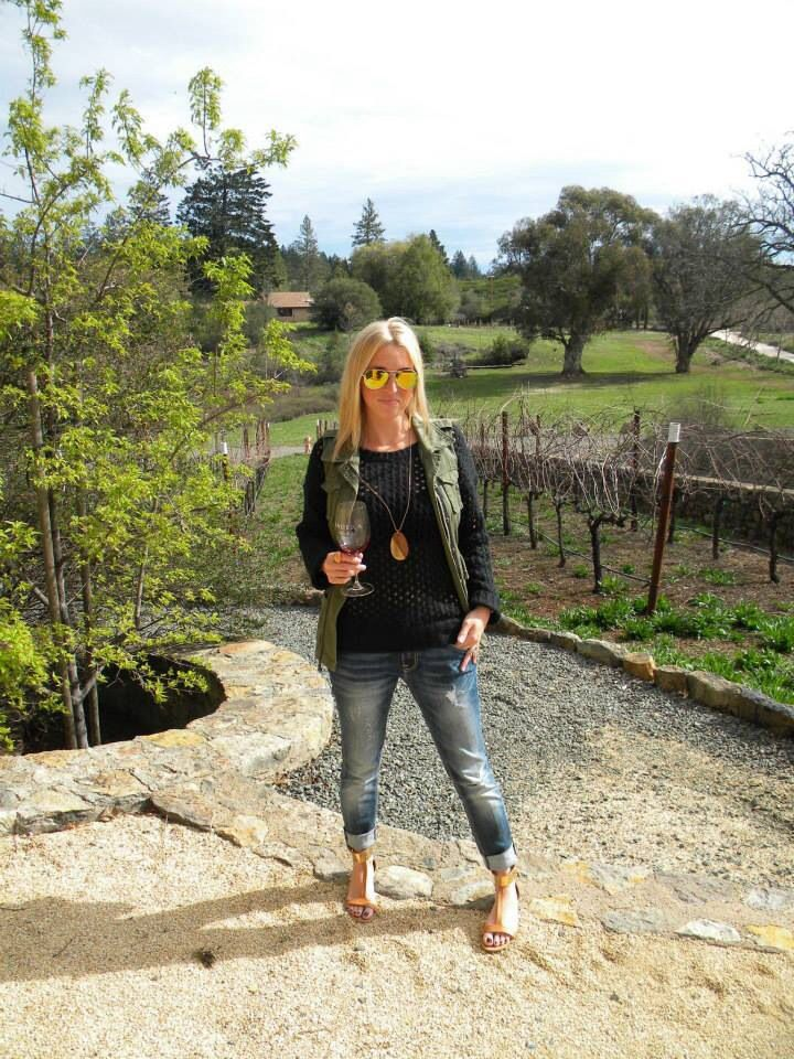 Wine Tasting outfit! A little casual, a little warm, all CHIC!