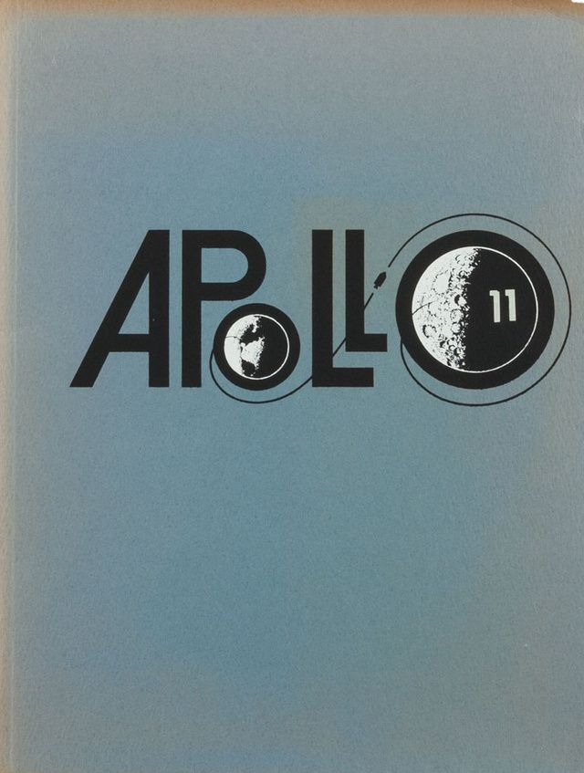 Apollo 11 Design from http://space.io9.com/twenty-awesome-covers-from-the-us-space-program-461436874