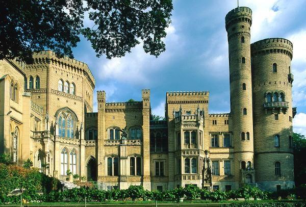not quite a ruin :) Castle Babelsberg, Potsdam Germany www.antananarivo.diplo.de